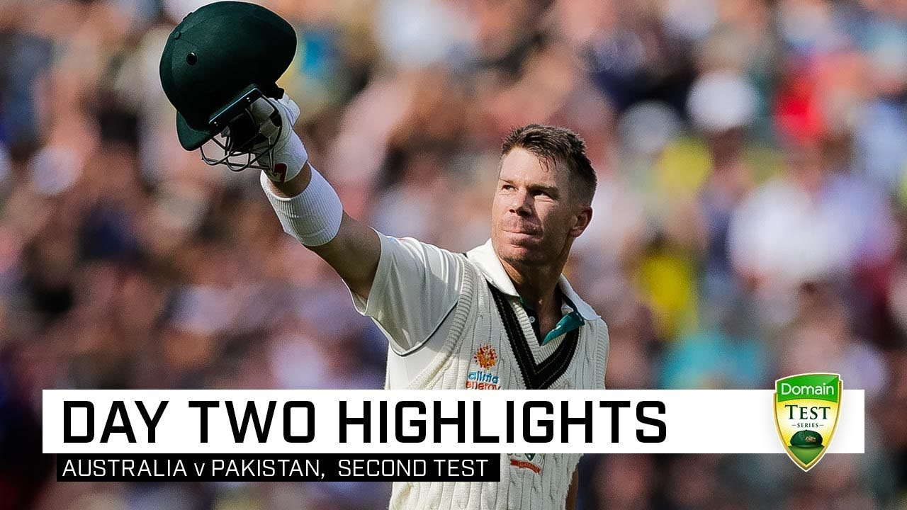 Warner pummels Pakistan before Starc shines under lights | Second Domain Test
