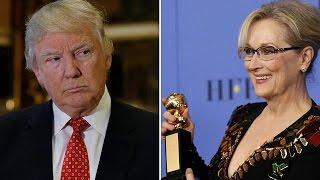 Trump trashes Streep: US president-elect calls award-winning actress