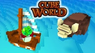 Дикий Бык Как Остров В Океане. Карибские Приключения (Cube World) #2(Продолжаем наши приключения в Cube World! Начинаем исследовать океан , встречаем большое разнообразие рыб и..., 2013-12-13T08:00:01.000Z)