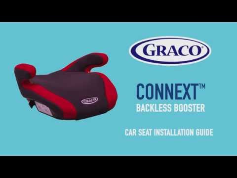 Graco® Connext™ Backless Booster Car Seat 15-36kg – Installation Guide