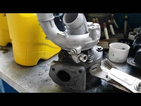 Range Rover Sport замена турбин