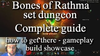 Diablo 3 Bones of Rathma Set Dungeon Complete guide
