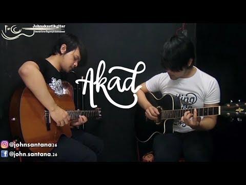 AKAD - [Payung Teduh] Akustik Instrumental Cover [tanpa vocal] By Johnakusatikgitar