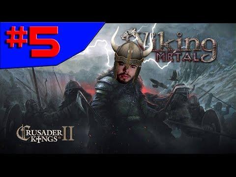 Crusader Kings 2 - ME PASSA A GRANA MULEQUE!!! #5 (Gameplay / PC / PTBR) HD