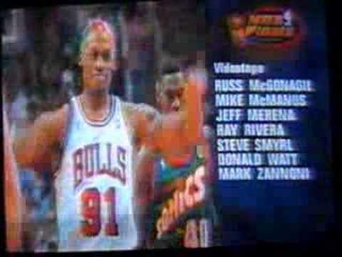 1996 NBA Finals Tribute