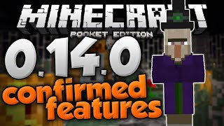 MCPE 0.14.0 UPDATE NEWS! - Witches, Creative Menu, & More Features! - Minecraft PE (Pocket Edition)