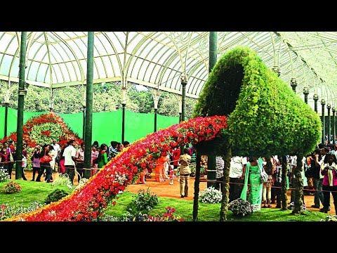 . Lalbagh Botanical Garden, Bangalore.Tourist Spot