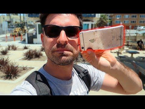ABBIAMO TROVATO UN IPHONE 6S SULLA SPIAGGIA! - Vlog dalla California #2