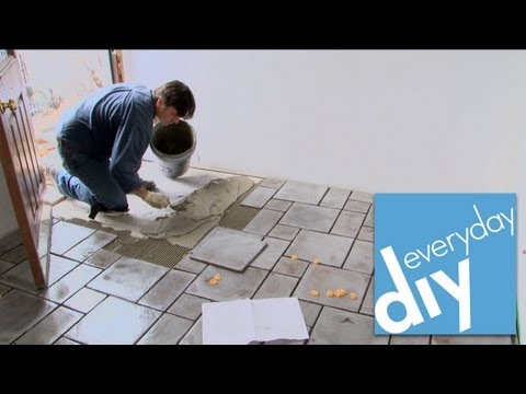 How To Install Tile Floor