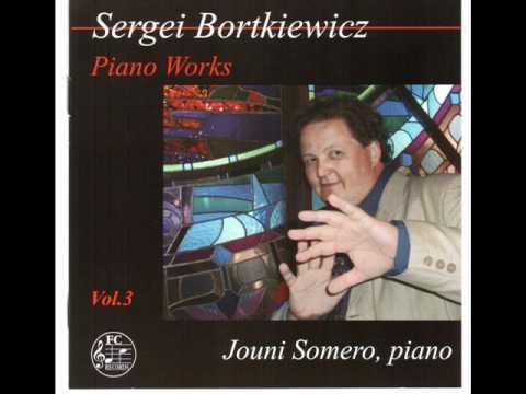 Jouni Somero plays Bortkiewicz Prelude op.13/5
