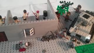 Лего самоделка #20 на тему Вторая Мировая (засада)
