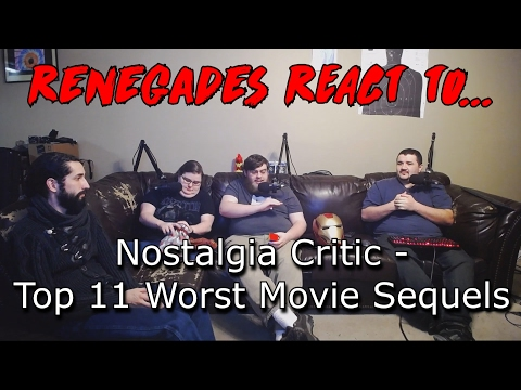 Renegades React to... Nostalgia Critic - Top 11 Worst Movie Sequels