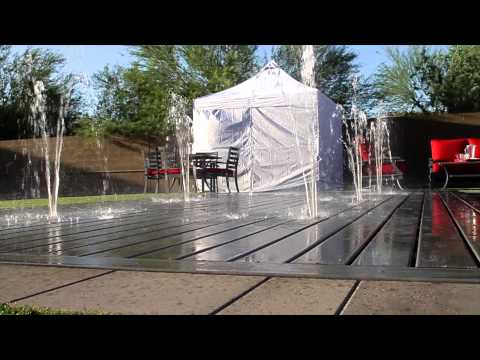 Invisipools Unveils Swimming Pool That Converts To Patio
