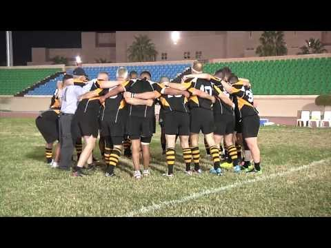 Partnership on the Pitch - Kuwait Scorpions engages U.S. Army Eagles in rugby