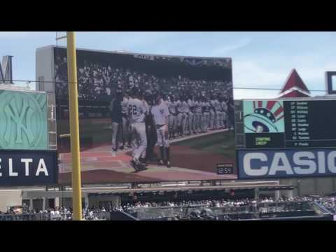 [HD] New York Yankees 2017 Home Opener- Player Introductions