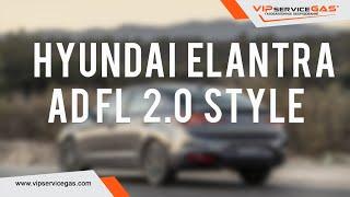 Bu Hyundai mulohaza 2.0 Uslubi E'LON FL DA Elantra. Hyundai uchun LPG 2019 Elantra. Gaz quyish.