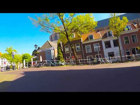 From The Hague to Delft by bike