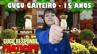 Gugu Gaiteiro - 15 ANOS DO GUGU GAITEIRO