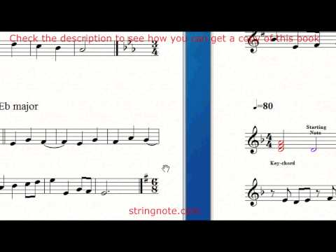 Learn to sing notes on a music sheet Grade 5