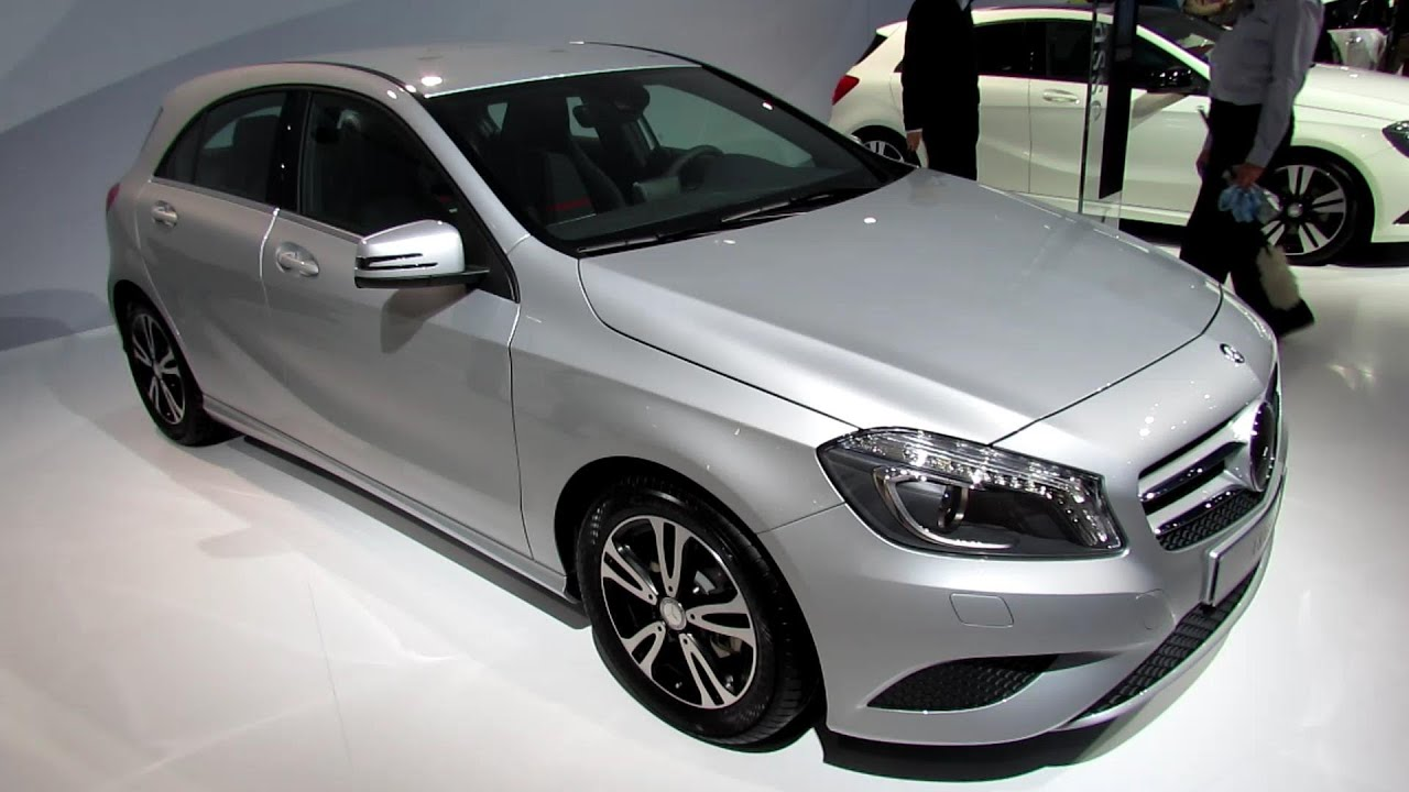2014 mercedes benz a class a180 diesel exterior interior walkaround 2013 frankfurt motor. Black Bedroom Furniture Sets. Home Design Ideas