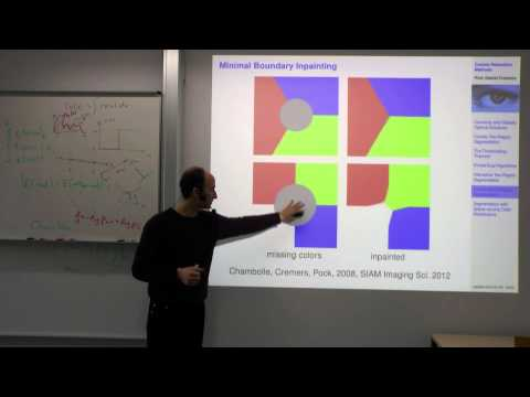 Variational Methods for Computer Vision - Lecture 15  (Prof. Daniel Cremers)