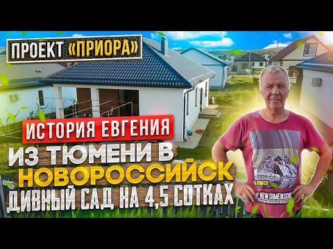 Из Тюмени в Новороссийск. Дивный сад на 4,5 сотках.