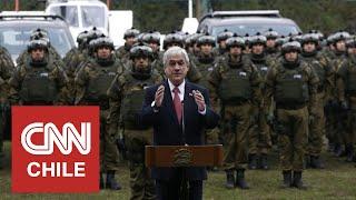 Presidente Piñera confirmó el retiro del GOPE de La Araucanía