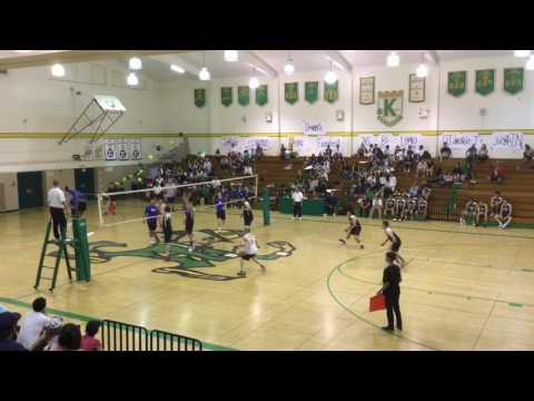 Daniel Song's 16-17 volleyball highlight