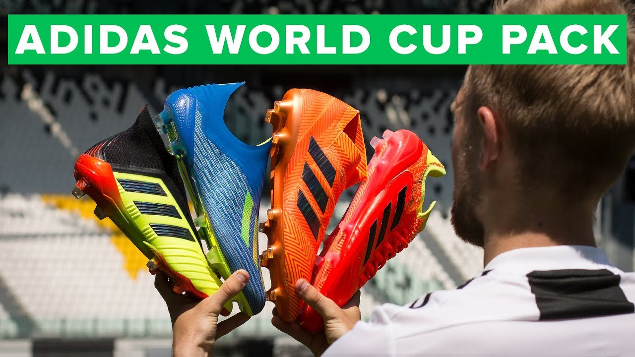 adidas Energy Mode Play Test new Nemeziz 18+ and X18+ World Cup football boots