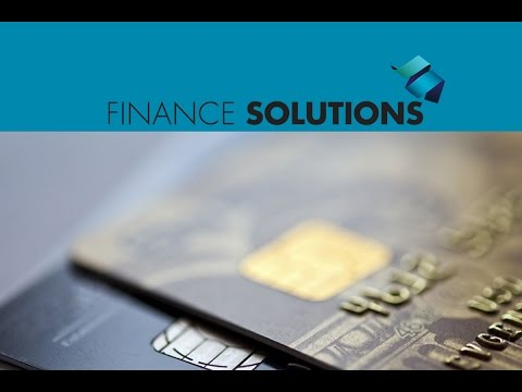 Finance Solutions - Credit 101: Understanding and Managing Credit