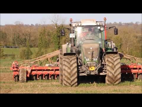 Tillage 2018 - George Walshe Agri Direct Drilling With Fendt And Horsch (HD)