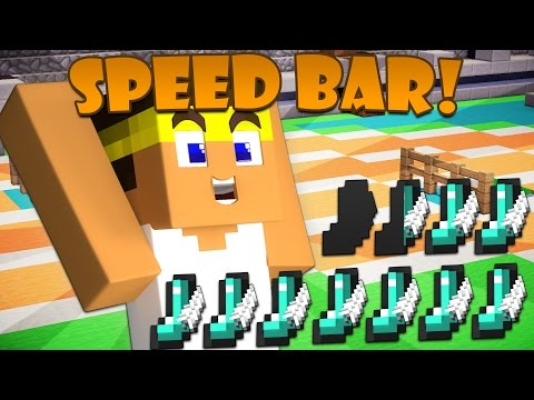 Thumbnail: If a Speed Bar was Added to Minecraft