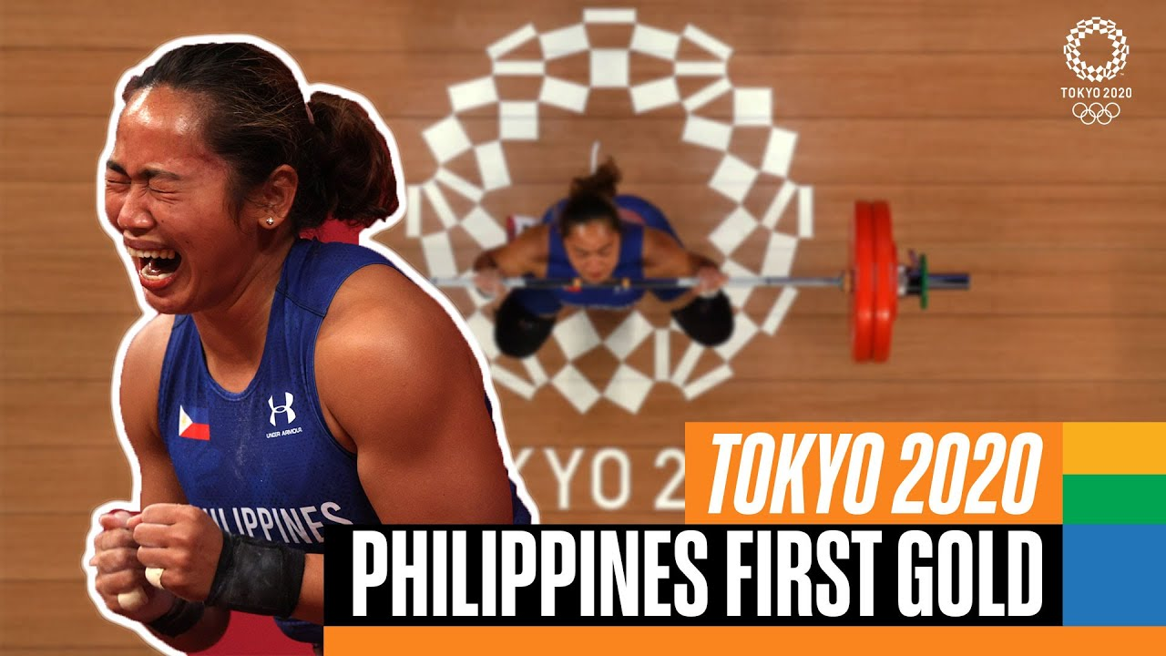 Download Philippines win their first ever gold medal! 🏋️♀️ | Tokyo Replays