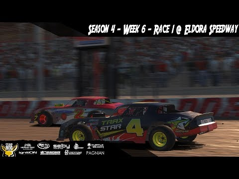 iRacing DIRTcar Class C Street Stocks Week 6 Race 1 @ Eldora Speedway