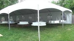 Teton Tent Rental-Wedding for 95 People-Backyard