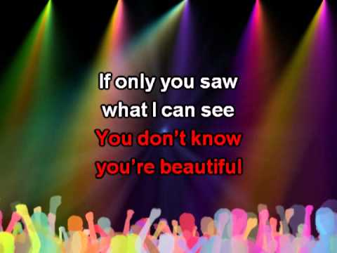 What Makes You Beautiful, With Lyrics - One Direction Karaoke