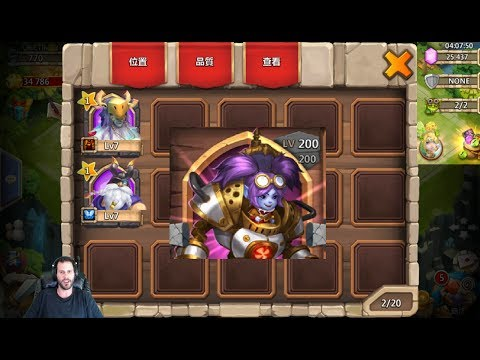 Rolling 25000 Gems For STEEL FIST New Hero On Taiwan Server Castle Clash