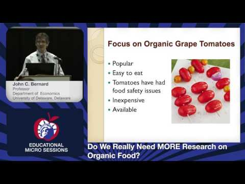 Organic Food And Public Perception