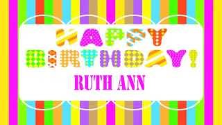 RuthAnn   Wishes & Mensajes - Happy Birthday