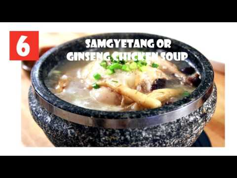 Top 10 best foods you should try in SEOUL, SOUTH KOREA