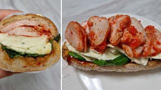 [1분완성] 칠리 닭가슴살 샌드위치 만들기 Make c…