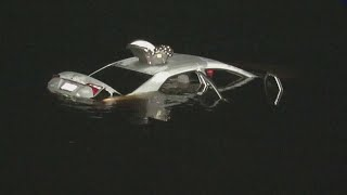 Questions surround a car found in river