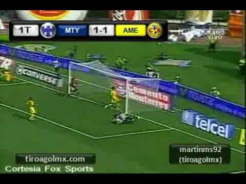 Monterrey vs America Clausura 2009 Jornada 16 2 3