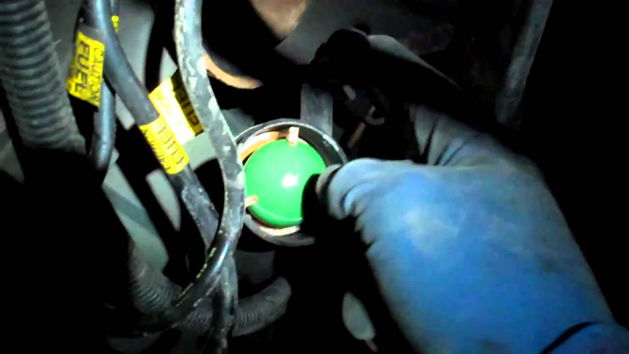 medium resolution of replace fuel pump without dropping gas tank ford truck enthusiasts forums