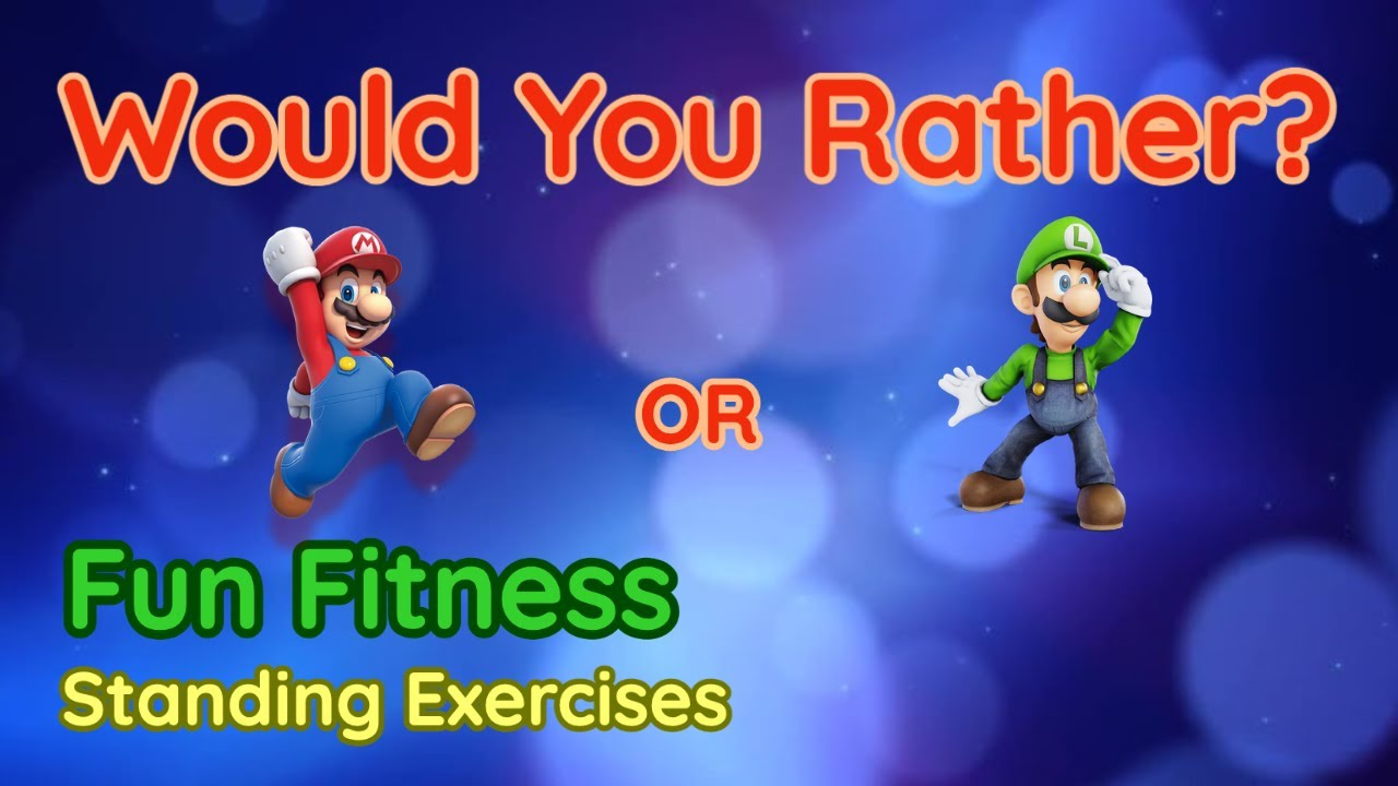 Download Would You Rather? WORKOUT - At Home Kids Fun Fitness Activity - Physical Education