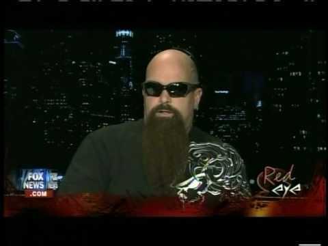 Red Eye SLAYER Interview of Kerry King by Greg Gutfeld Fox News