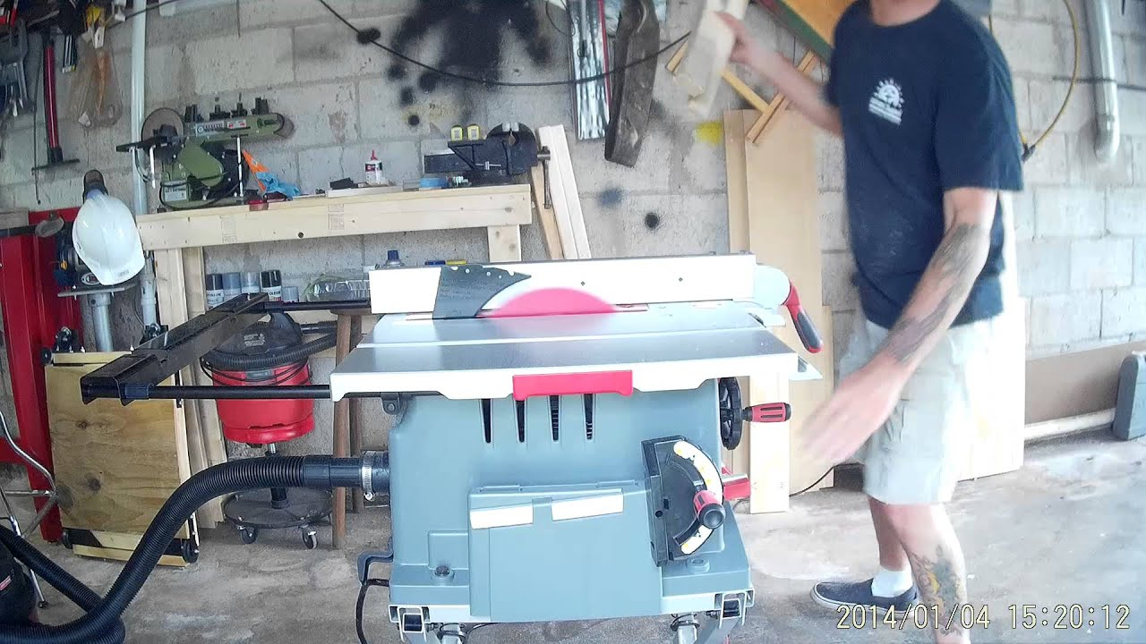 Craftsman 10 Jobsite Table Saw Model 28463 With Folding Stand Youtube