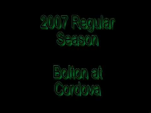 2007 Cordova Football Video