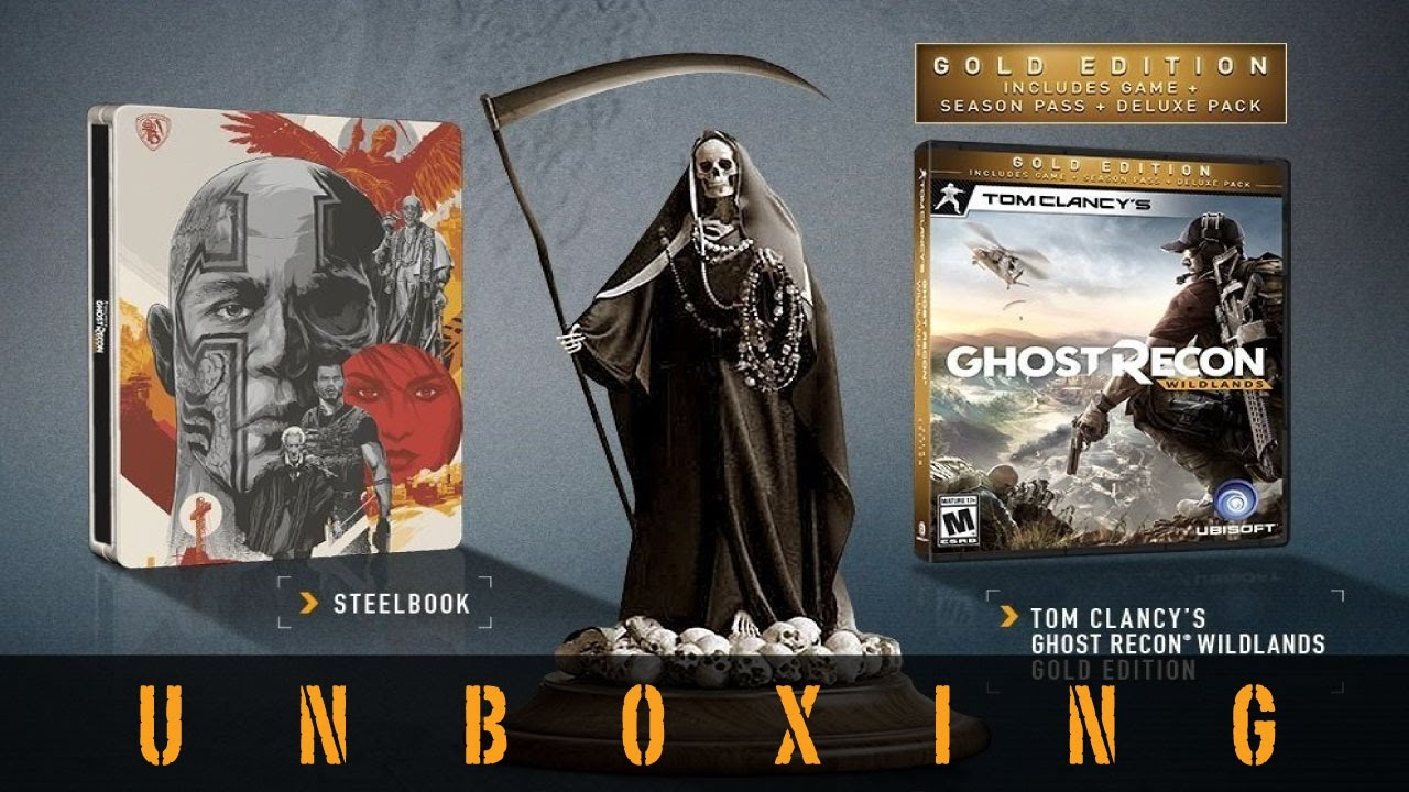 Ghost Recon Wildlands War Within The Cartel Edition Unboxing