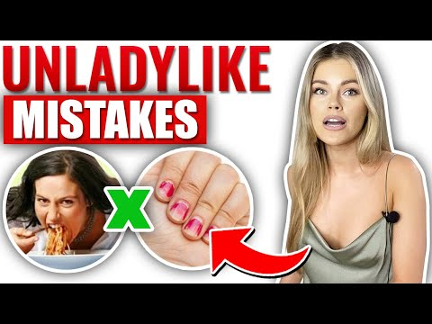 7 Unspoken Mistakes that a Classy Woman Does Not Make!